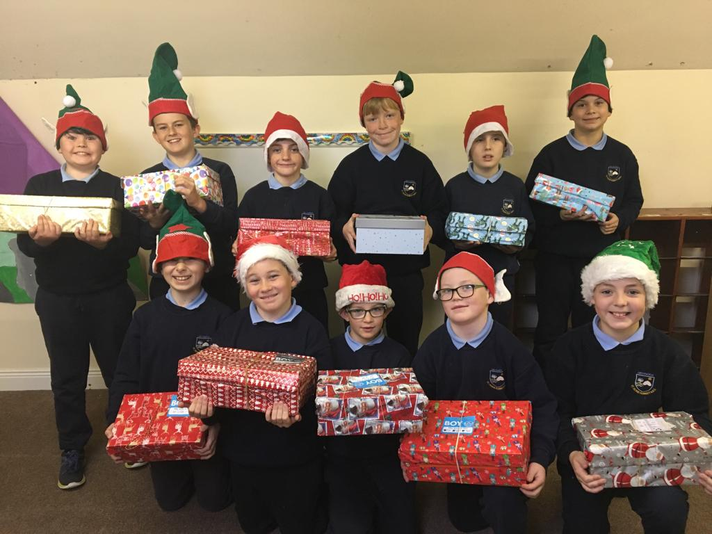 Team Hope Christmas shoebox appeal