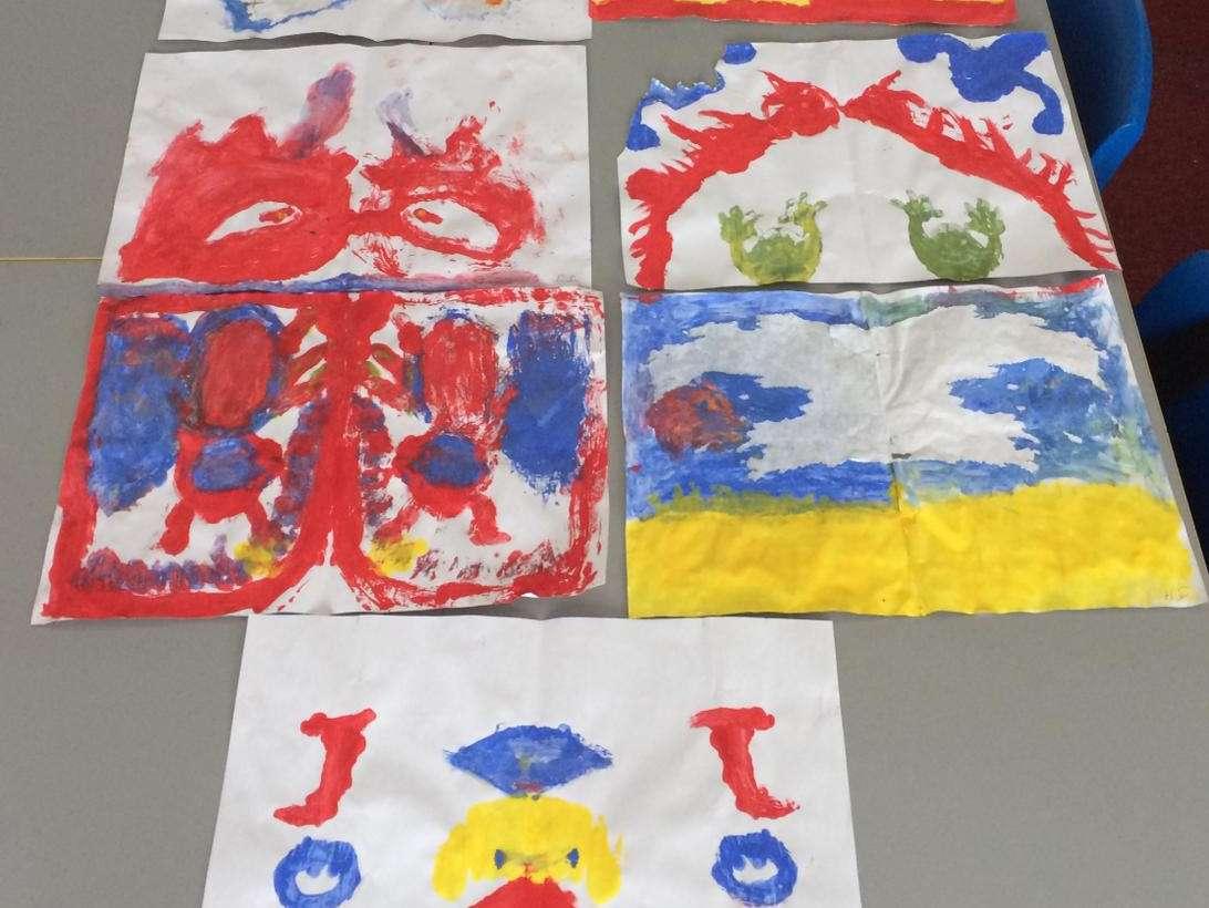 Symmetry paintings